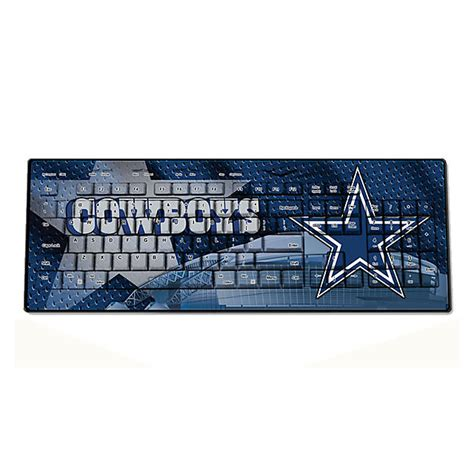 dallas cowboys desk accessories dallas cowboys wireless keyboard office home office