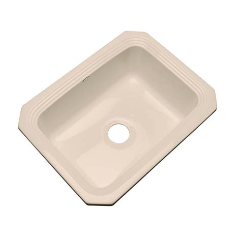 thermocast kitchen sinks cleaning thermocast rochester undermount acrylic 25 in single bowl