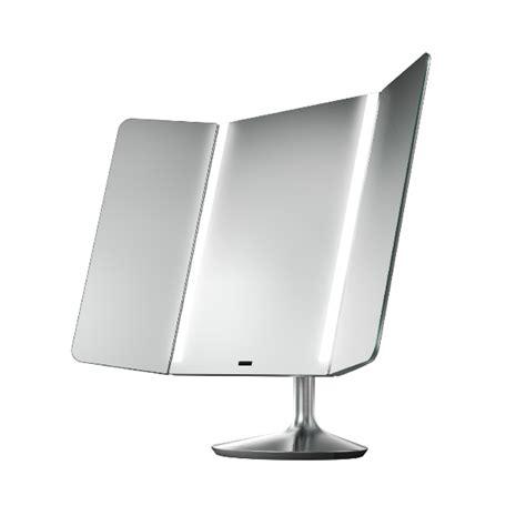 simplehuman vanity mirror simplehuman wide view sensor mirror questo design