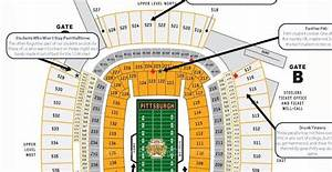 Judgmental Seating Chart Of Heinz Field
