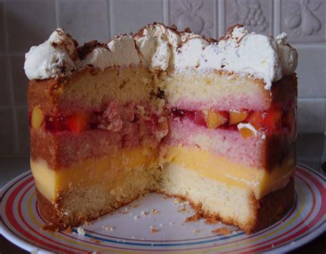 caked crusader trifle sponge cake