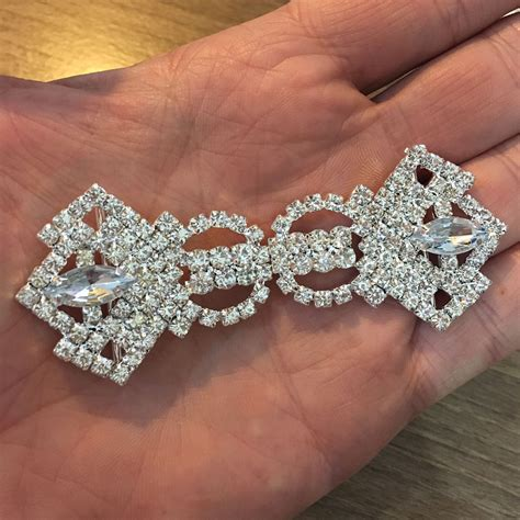 Rhinestone Embellishments  Luxury Wedding Invitations