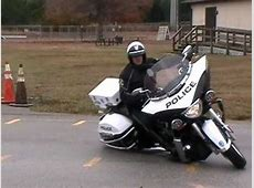 Victory Police Motorcycles Clearwater Florida Testing