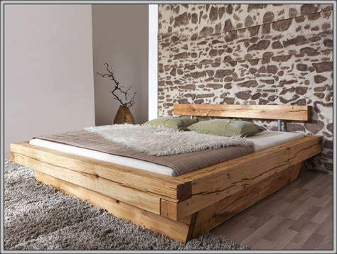 Außergewöhnliche Betten Selber Bauen by Holzbalken Bett Selber Bauen Rangelandnews Org
