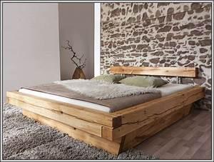 Bett Selber Bauen Holz : bett holzbalken selber bauen betten house und dekor galerie pnzjwbzglk ~ Markanthonyermac.com Haus und Dekorationen