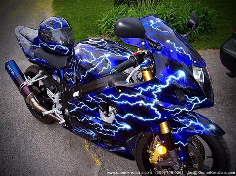 Custom Painted Sport Bikes