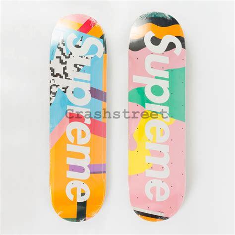 Supreme Skateboard Deck Uk by Supreme Alessandro Mendini Skateboard Set Of 2