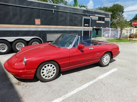 Sell Used 1994 Alfa Romeo Spider Veloce Convertible