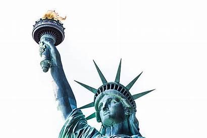 Liberty Close Statue