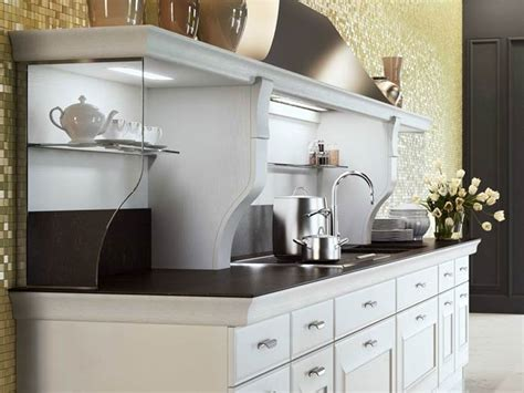 mensole laccate bianche cucine country bianche