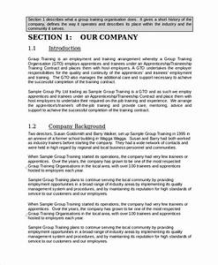 employee job training manual template templates resume With company safety manual template