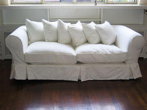 White Sofa And Loveseat Slipcover Sets Brokeasshomecom