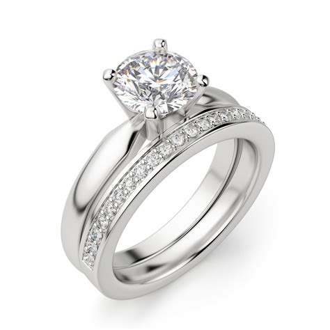 style cut solitaire engagement ring diamond nexus