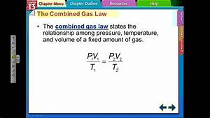 13 1 Combined Gas Law