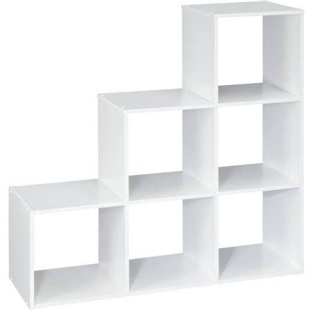 closetmaid stackable 3 cube organizer white closetmaid 3 2 1 cube organizer white walmart