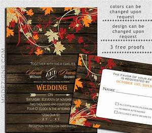 fall wedding invitation template 15 psd formats With free printable autumn wedding invitations