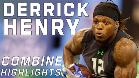 derrick henry alabama rb  nfl combine highlights
