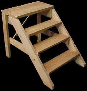 mobile home supply wood steps  handrails wood