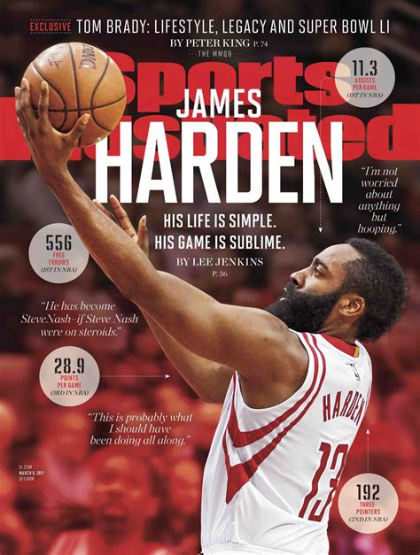 Rockets' James Harden to appear on Sports Illustrated cover