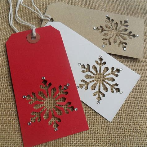 homemade gift tags ideas