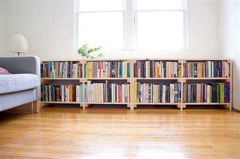 Long Low Bookcase Plans  Woodworking Projects & Plans