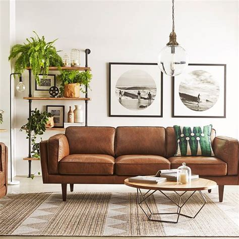 Grey Living Room Brown Sofa by 10 Beautiful Brown Leather Sofas For The Home Room