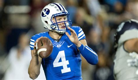 Fifth-year senior QB Hill named starter for BYU | Lindy's ...