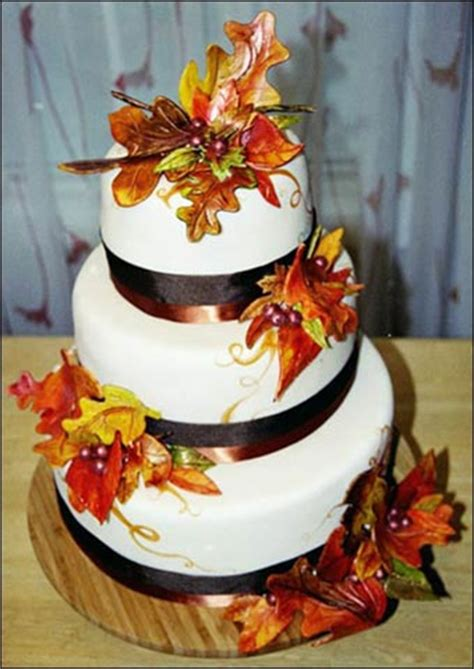 Amy's Daily Dose Top 10 Fall Wedding Cakes On Pinterest