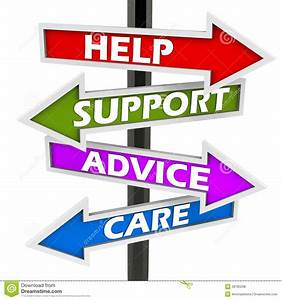 Help support advice care stock illustration. Image of help ...
