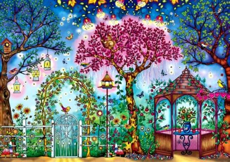 Whimsical Animal Wallpaper - whimsical songbird garden f2cmp birds animals