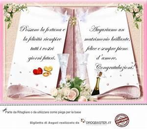 Biglietto Con Frase Auguri Matrimonio