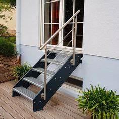 Geländer Treppe Aussen : gitterrost podesttreppe entrance treppe podesttreppe und gel nder treppe ~ A.2002-acura-tl-radio.info Haus und Dekorationen