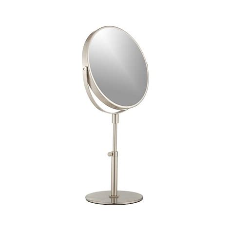Sided Bathroom Mirror by Sided Vanity Mirror In Bath Accessories Crate And