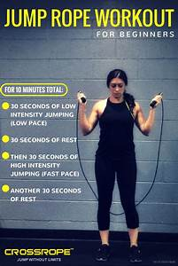 Jump Rope Workout for Beginners - The Fit Foodie Mama