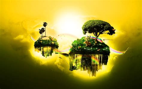 Abstract Nature Widescreen Image