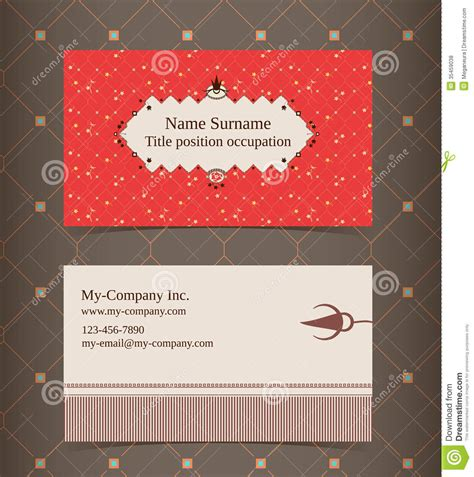 business card layout editable design template royalty