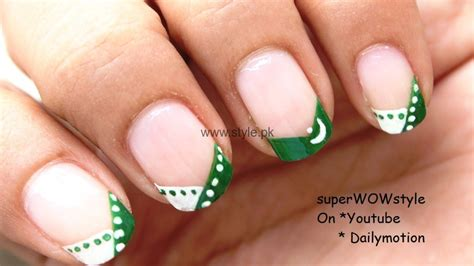Nail Art Ideas 2016 For Pakistan's Independence Day (6