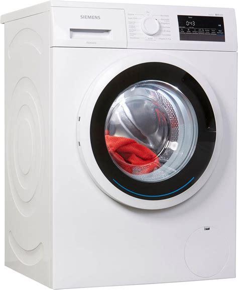 siemens waschmaschine iq300 wm14n2eco 7 kg 1400 u min kaufen otto