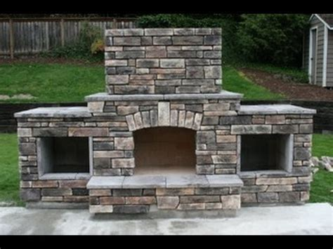 diy outdoor fireplace diy building an outdoor fireplace