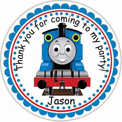 Thomas Train Stickers Party Birthday Clipart Personalized
