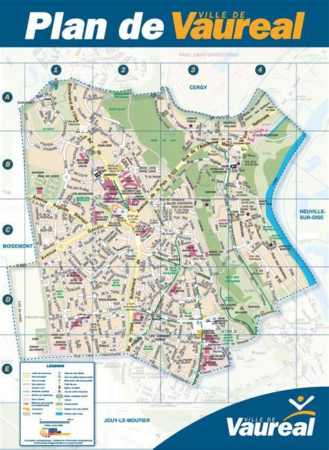 Mairie Ville De Plan De Plan De La Ville Ville De Vauréal