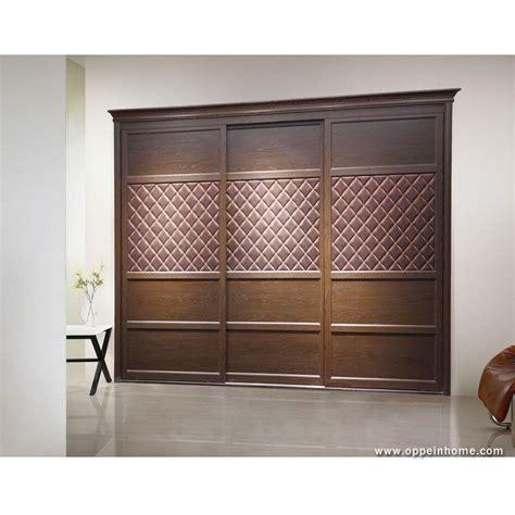 bedroom furniture item  modern brown built