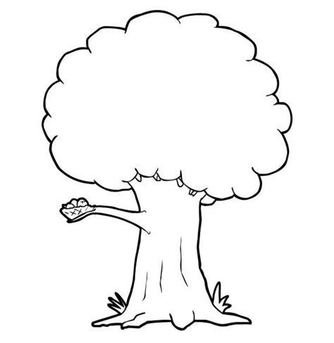 kumpulan sketsa gambar pohon besar