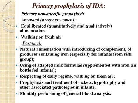 Ppt Iron Deficient Anemia In Children Powerpoint