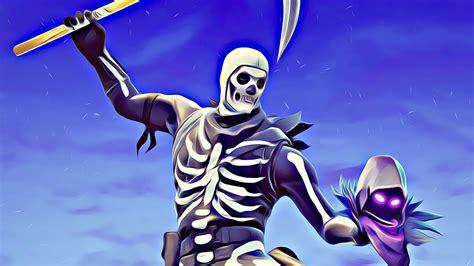 skull trooper   hd fortnite wallpaper