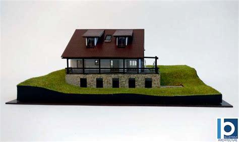 Mountain Cabin Architectural Scale Model