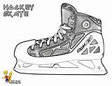 Hockey Coloring Skates Boys Ice Trick Sheets Skate Sheet Printables Yescoloring Players Sports Hat sketch template