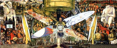 Stalinist Mural Diego Rivera Rockefeller Center by La P 225 De Omar Montilla El Hombre En La Encrucijada