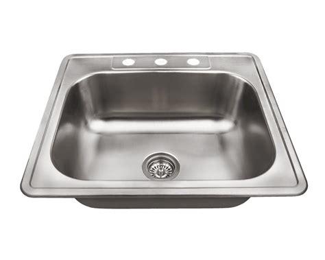single basin stainless steel sink us1038t single bowl topmount stainless steel sink