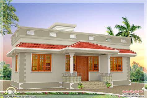 house design plan 52 lakhs cost estimated contemporary style house plan kerala